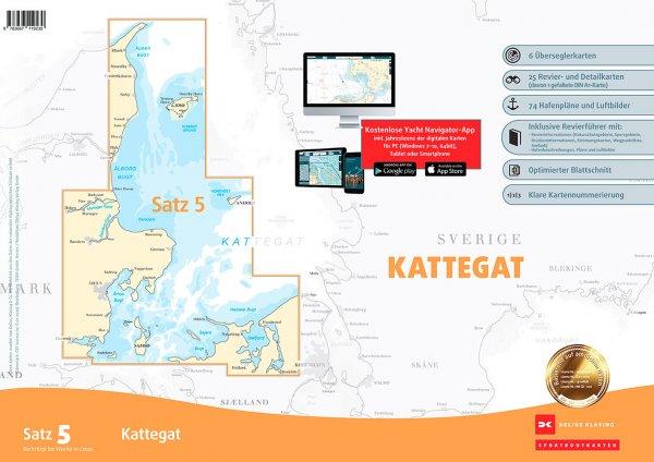 Delius Klasing Satz 5: Kattegat