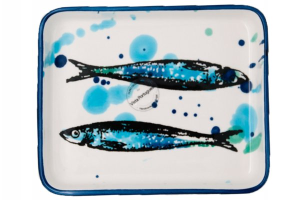 Keramik Platte S 16x14 cm