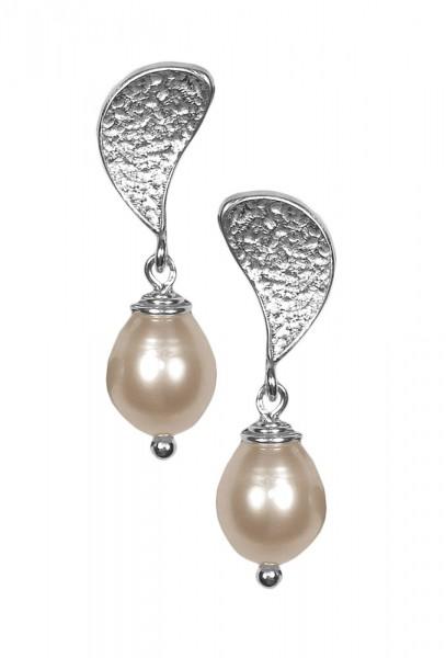 Ohrstecker mit Perle 925er Silber