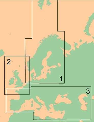 G-Chart Italien, Adriatisches Meer