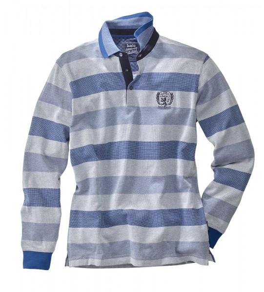 Hajo Streifen-Poloshirt wash&go