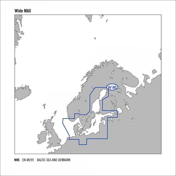C-MAP MAX Wide Ostsee & Dänemark EN-M299 SD Chart
