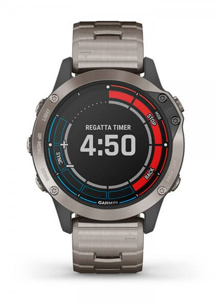 Garmin Quatix 6 Titanium GPS Marine Smartwatch
