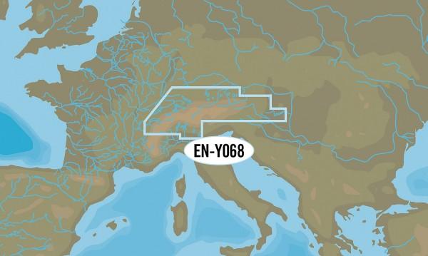 C-MAP Wide: EN-Y068 Europe centrale MAX-N+