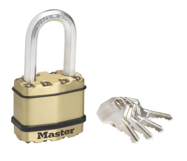 Master Lock Vorhängeschloss EXCELL Messing