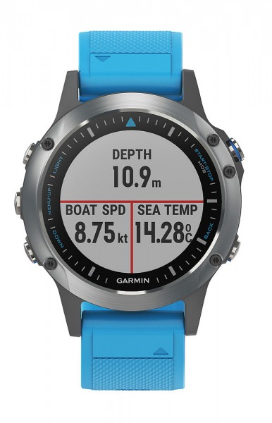Garmin Quatix 5 Blue Band