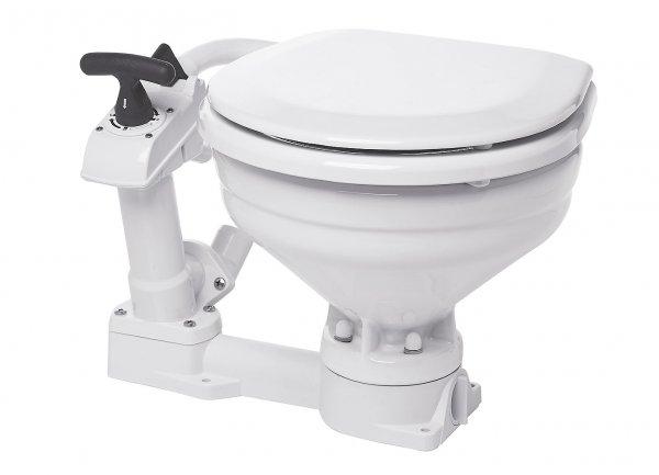 Compass manual toilet