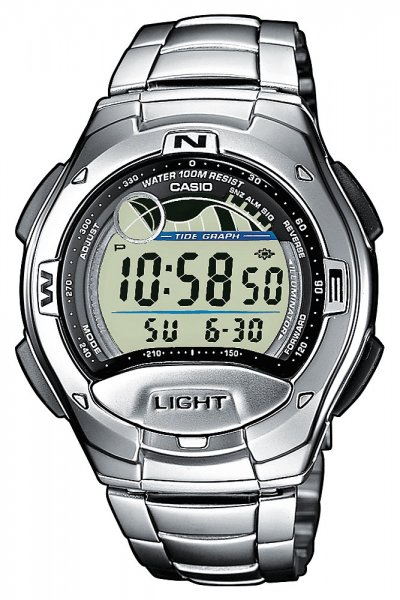 Casio Yacht Timer stainless steel