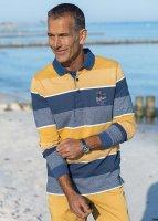 Hajo Rugbyshirt StayFresh blau/gelb H: 46/48