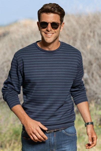 Mads Maassen Streifensweater