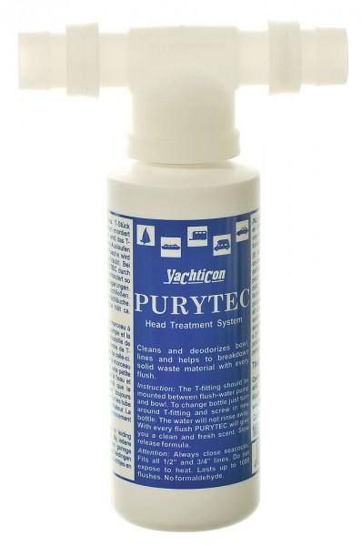 Purytec Set T-Stück + Flasche