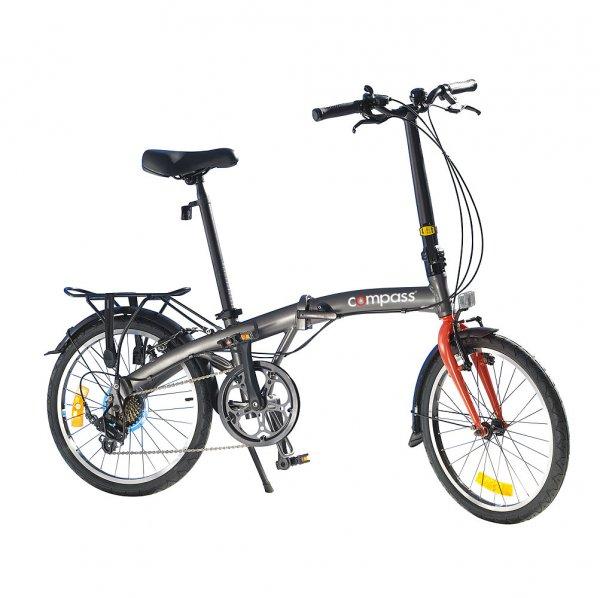 "Compass folding bike 20"" aluminium"