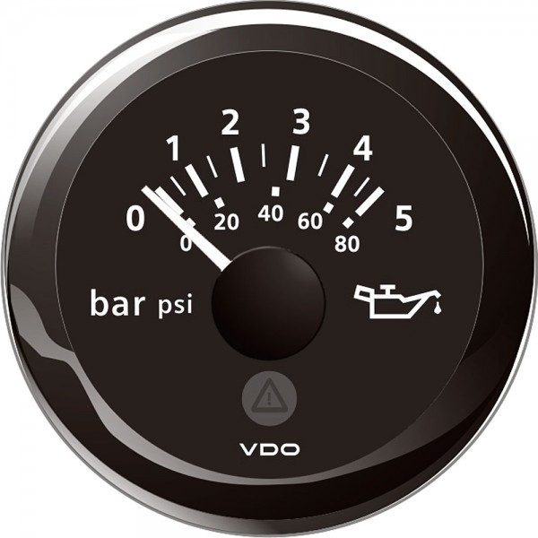 Oliedruk 5 bar 52 mm
