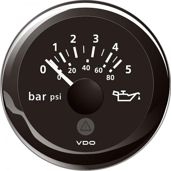 Pression de l'huile 5 bars 52 mm