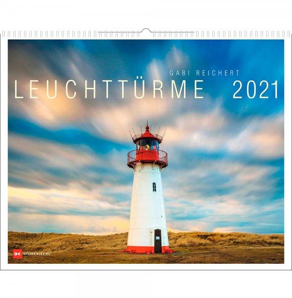 Leuchtttürme Kalender 2021