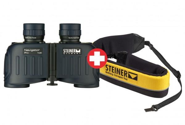 Lornetka Navigator Pro 7x30 + Pas wypornościowy - Steiner