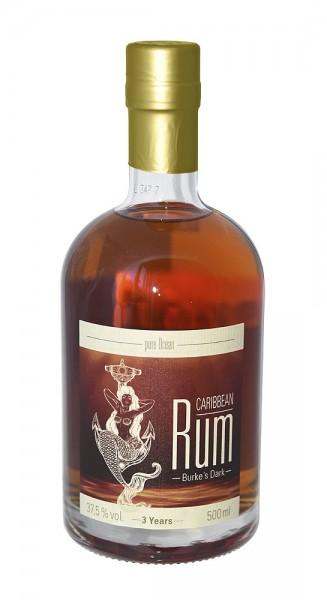 Pure Ocean Burkes Dark Rum, 37,5%