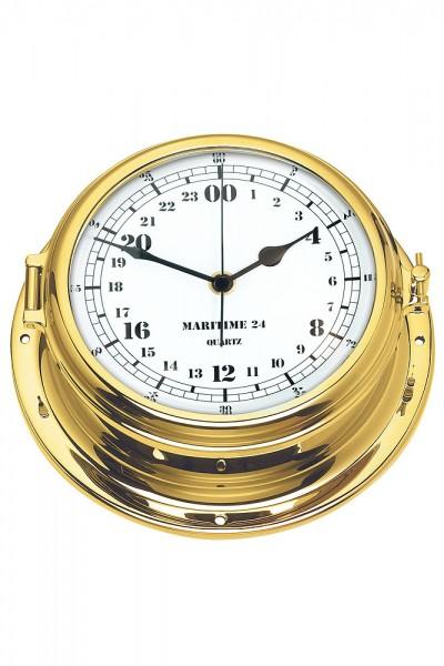 Zegar Mosiężny Analogowy 24h