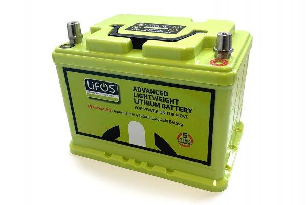 LIFOS Li Ionen Batterie LIFEPO4 inkl. Batteriemanagement System
