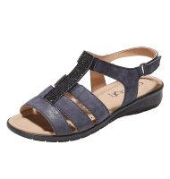 Caprice Strass-Sandale