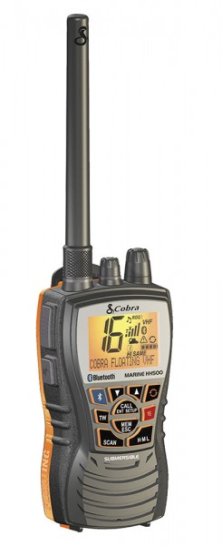 Cobra 500 Bluetooth handheld radio