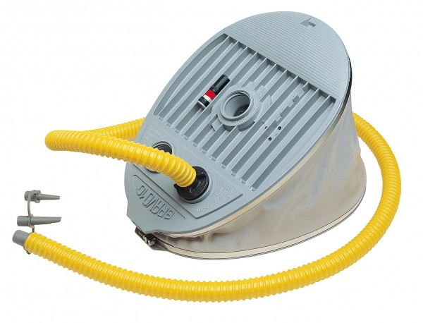 BRAVO 10 twin-chamber foot pump