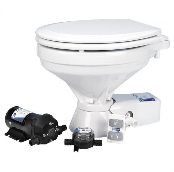 Jabsco Quiet Flush elektrische Toilette mit Spülpumpe