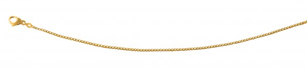 Venezianerkette 50 cm Gelbgold