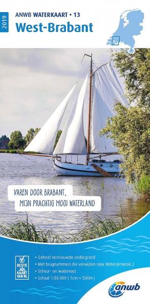 ANWB Waterkaart #13 West Brabant