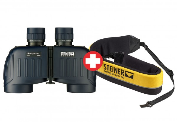 Lornetka Navigator Pro 7x50 + Pas wypornościowy - Steiner