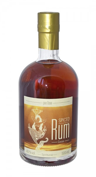 Pure Ocean Spiced Rum Cocos, 40%