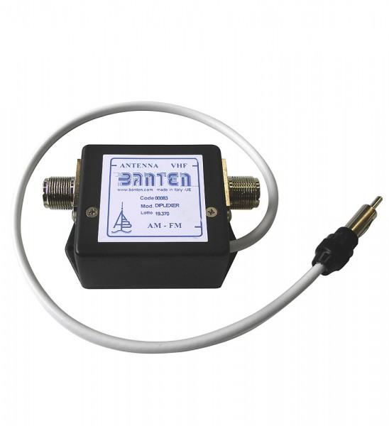 Duplexer for VHF/ Auto Radio