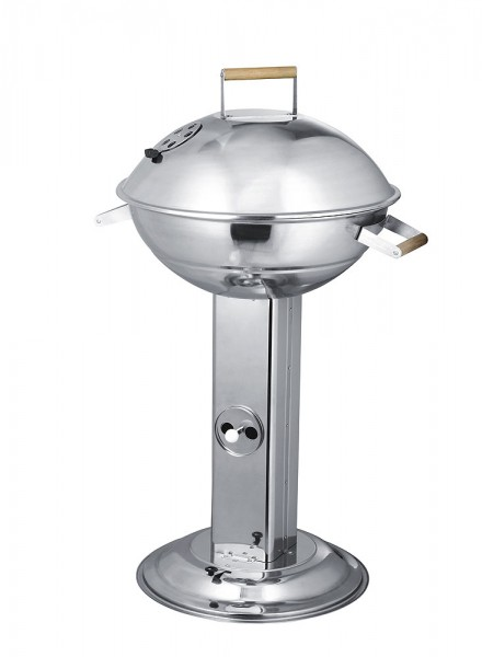 Stand-up grill