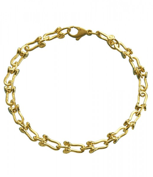 Armband für Ihn 21 cm Schäkeloptik