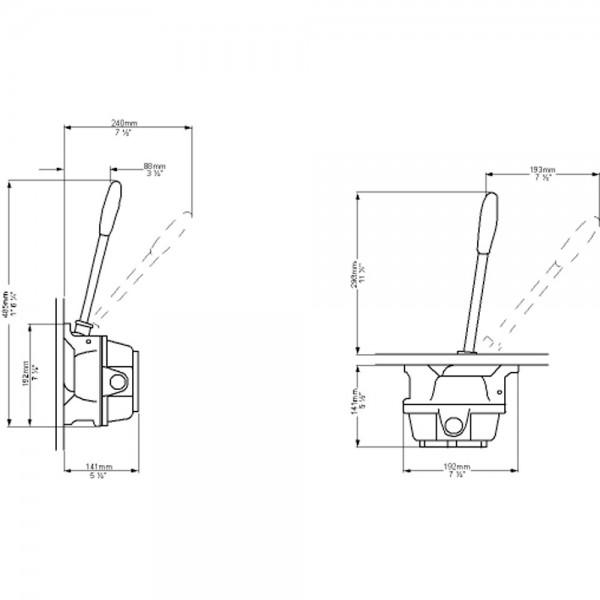WH manuell Toilettenpumpe
