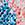 koralle/blau