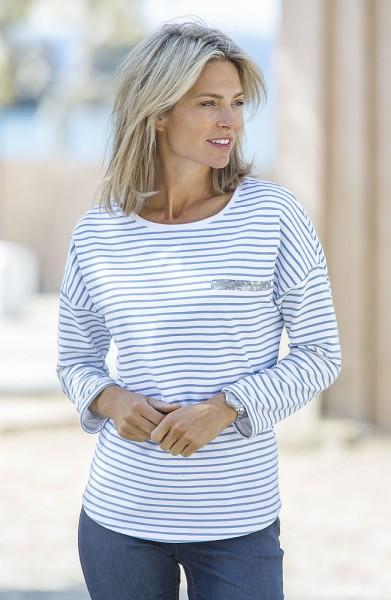 Serafini Streifen-Sweater
