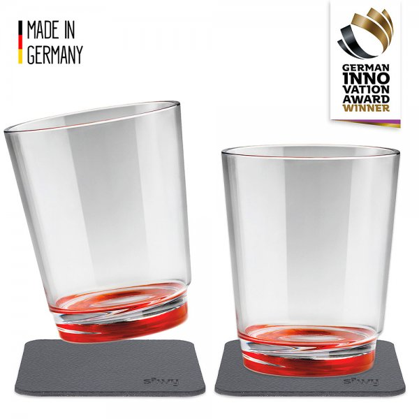 Drinking cup with magnet, set of 2