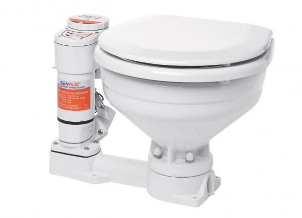 Compass electronic toilet