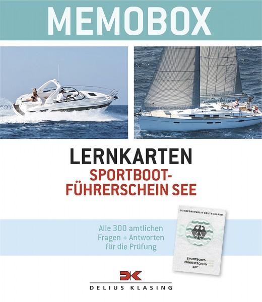 Memobox Lernkarten Sportbootführerschein See