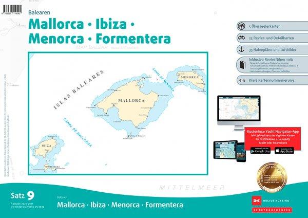 Satz 9: Balearen, Mallorca • Ibiza • Menorca • Formentera