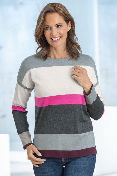 Serafini Colour Block Pullover