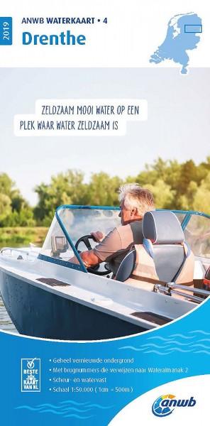 ANWB Waterkaart #4 Drenthe
