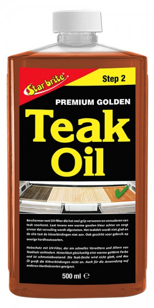 Star brite� Premium Golden Teak Oil - STEP 2