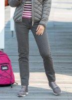 Damen Karo-Jeans