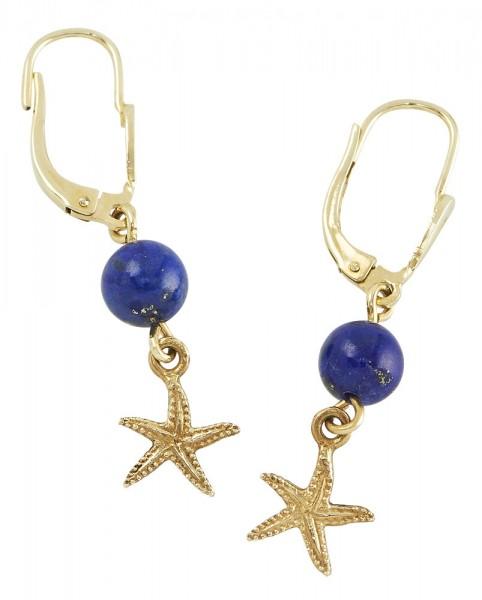 Pendants d'oreilles étoile de mer