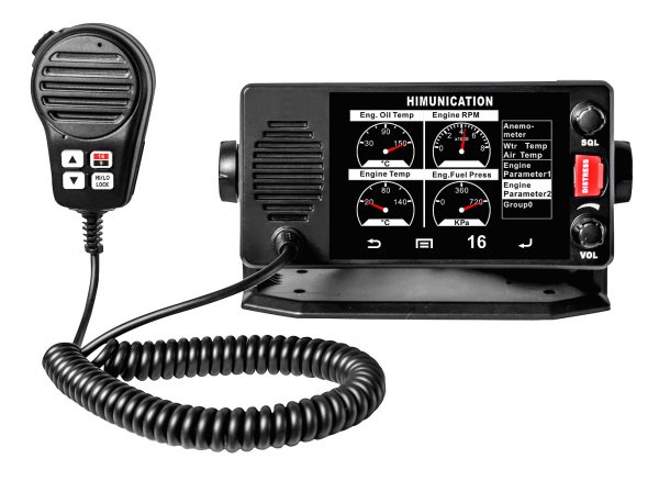 Radio TS18 with touch screen and NMEA2000