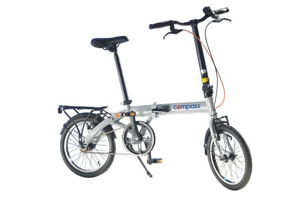 Compass Folding Bike 16-Inch Aluminium