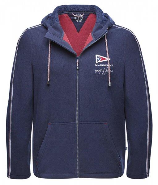 Hooded fleece jacket Marinepool Teddie