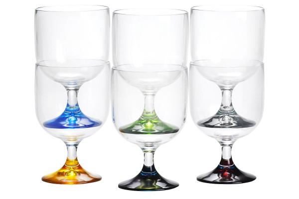 Wasser/Weinbecher, 6er Set